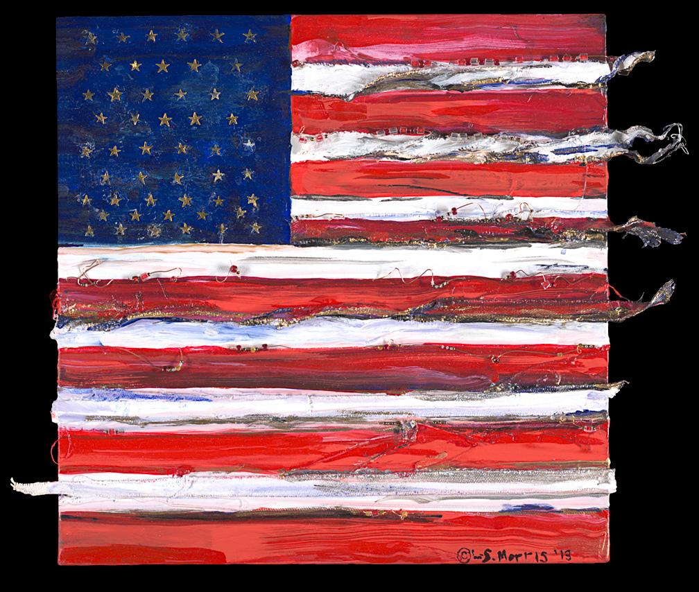 BEADED FLAG
